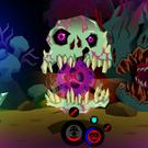 A scene from the PlayStation Vita game 'Severed'