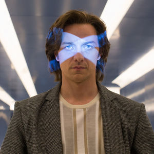 James McAvoy as the young Professor X in X-Men:Apocalypse