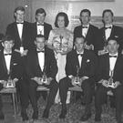 Sligo Sports Stars, 1967. Group includes, back row, Francis Kearins, David Pugh, Michael Burns, Sybill Higgins, Mickey Kearins, Tony Mooney, Alan Murray; front row, Joe Palmer, Bryan Mullen