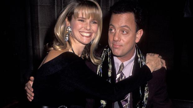 Billy Joel with 'Uptown Girl' Christie Brinkley.