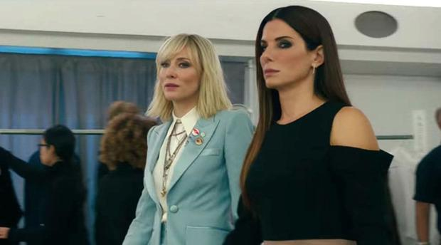 Cate Blanchett and Sandra Bullock spearhead an all-female cast in Ocean's 8