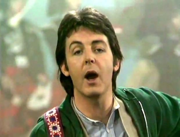 Paul McCartney and Wings eclipsed a Beatles chart record with Mull of Kintyre