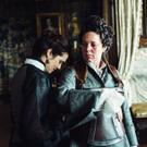 Rachel Weisz as Sarah Churchill and Olivia Colman as Queen Anne in The Favourite