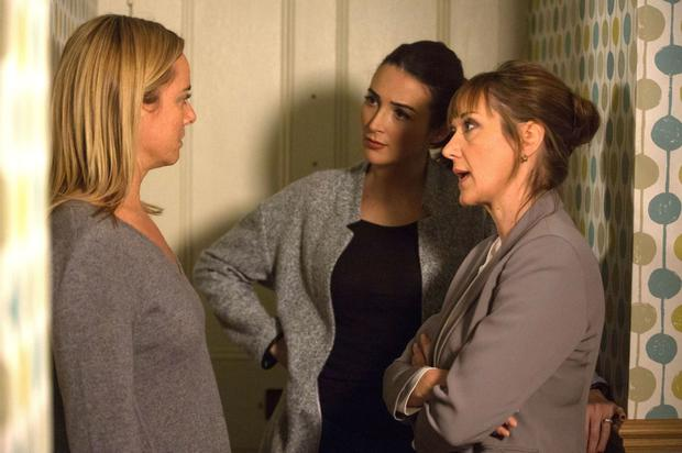 Nicola and Maddie confront Mel over Ray's whereabouts.