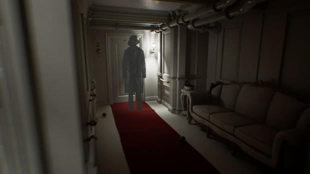 The environment design in Layers of Fear 2 is often magical and never predictable.