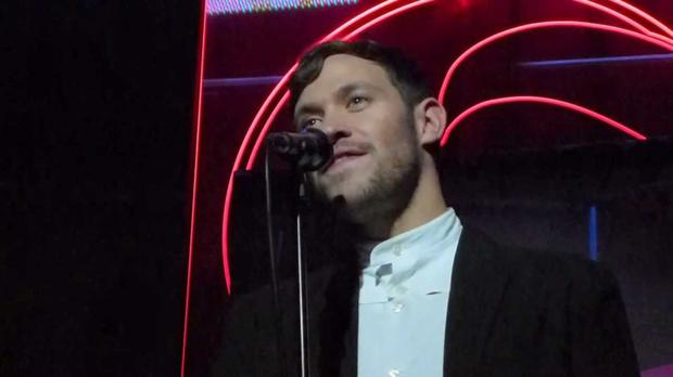 Will Young: 'Light My Fire' was one of his four number one hits.