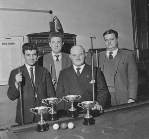 CYMS Billiards competition held in the Gillooly Hall, Sligo. Pic: Jim Eccles.