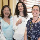 Karen Kennedy, Davinia Gaughan and Maria Collery at the Coffee Morning at City Hall