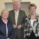 Patricia McCann, Peter Henry and Ita Connolly at the Coffee Morning in aid of NW Hospice at City Hall