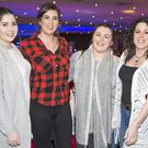 Maty O'Hara, Ali O'Hara, Laura Gaughan and Laura Salinas-Badia enjoyed Stars in Their Eyes at the Clarion Hotel