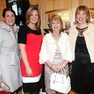 Geraldine McKenzie, Ciara Byrne, Margaret O'Connell and Susan McGowan at the Radisson Blu Hotel Christmas Party night last Friday