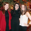 Nicola Rogers, Emma Neary and Niamh Merrick at the Radisson Blu Hotel, Christmas Party night last Friday