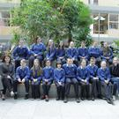 The students from Corran College