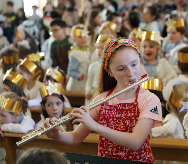 The Strandhill National School Christmas concert