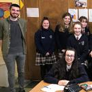 Luke McDermott, a Sligo native currently studying Creative Writing in NUI Galway, conducted a creative writing workshop for TY students in Mercy College. Luke is a former Summerhill student who won the Callan Tansey Essay competition and is currently writing his first novel