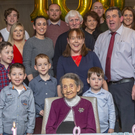 Bridie Colleary, Lacken, Enniscrone who celebrated her 100th birthday on 27th December in the Diamond Coast Hotel, with family and friends