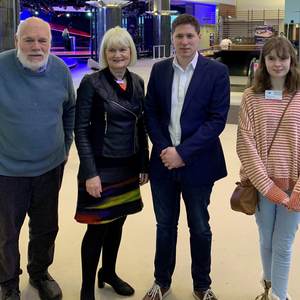 The winners of the 2018 National Europe Direct Soapbox Competition were in Brussels recently as part of their prize. Pictured in the European Parliament were (L to R): Robert McDaid, Rathcormack, Sligo, senior winner; Marian Harkin MEP; Matt Carthy MEP; Anna Bradish, Loughmore,Tipperary, 18-and-under category winner