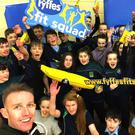 Fitness and healthy eating should start at a young age. That's the message children at Coola Post Primary School have been taught at recent 'Fit Squad' interactive health and fitness sessions hosted by their schools. Organised by banana importers Fyffes and delivered by Irish fitness expert, Tom Dalton, over 240 pupils took part in the active workouts, which included talks and tips on healthy eating, all designed to improve children's general fitness through engaging and fun-filled activities. Schools and sports clubs interested in participating in the popular nationwide initiative are asked to visit www.fyffesfitsquad.ie