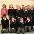 Last year its future was uncertain but now St Mary's College in Ballisodare is thriving once more and pictured above is the school's First Year Class of 2019, pictured with their mentors and mentor co-ordinator MsHughes