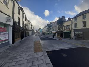 The O'Connell Street enhancement works have just been completed.