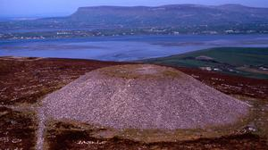 People are being asked to not walk on Queen Maeve's Cairn on Knocknarea.