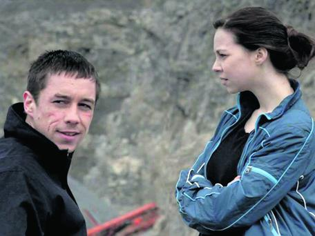 Killian Scott and Jane McGrath in 'Black Ice'