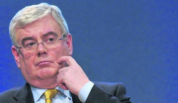 Tanaiste and Minister for Foreign Affairs, Eamon Gilmore