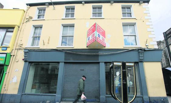Former First Active building O'Connell Street.