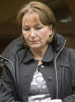 Gabrielle McSharry leaving Sligo courthouse last Thursday.