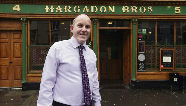 Joe Grogan at Hargadons, Sligo. Photo: James Connolly / PicSell8