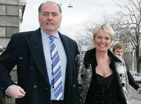 Lissadell House owners, Edward Walsh and Constance Cassidy.
