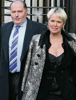 The owners of Lissadell House, Edward Walsh and Constance Cassidy.