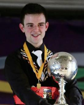 World Irish Dancing Champion, Conor Walsh, from Rhue, Tubbercurry.