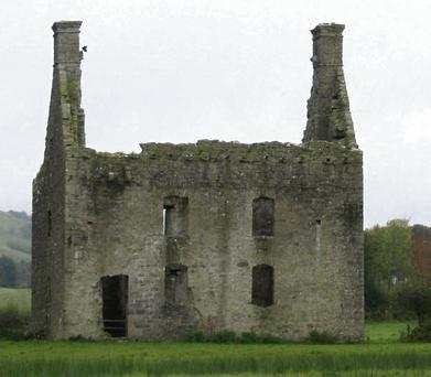 The manor house in Castlebaldwin, estimated to have been built in the mid 17th century.