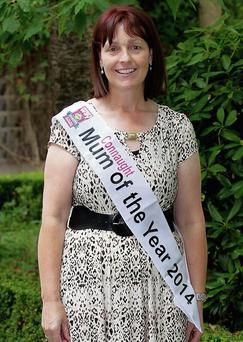Patricia Armstrony from Ballygawley, who was named the Connacht mum of the year at the Womans Way/Lidl Ireland awards