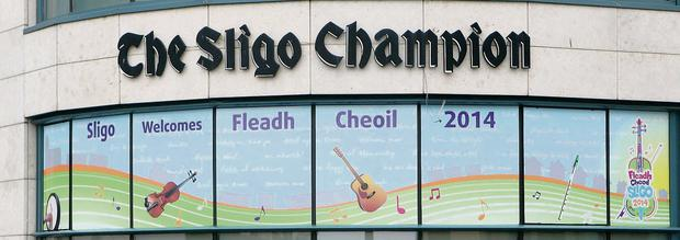Sligo Champion Fleadh window