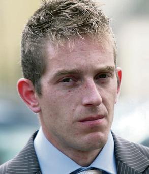Michael Kivlehan outside the inquest into the death of his wife Dhara