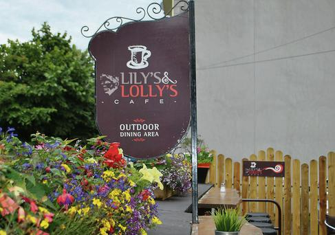 Above: Lily's and Lolly's Café in the Yeats Memorial Building; below: Molly's Diner on Markievicz Road.