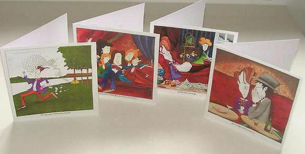 Annie West's Yeats in Love cards, which are available to buy