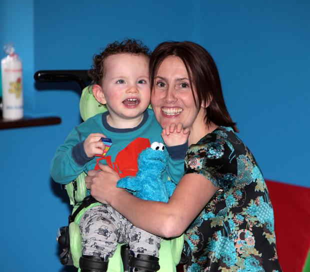 Shauna Gallagher with her son Rory