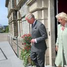 Prince Charles and Camilla during their Sligo visit