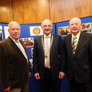 Seamus Kilgannon, Board member of the Irish League of Credit Unions, Brian McCrory President of the Irish League of Credit Unions and Peter Tiernan, Chairman of Sligo Credit Union
