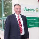 Aurivo CEO Aaron Forde at the opening of the Finisklin headquarters