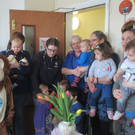 Parents, children and staff celebrate the 10th birthday of the drop-in creche at Sligo Family Resource Centre, The Mall