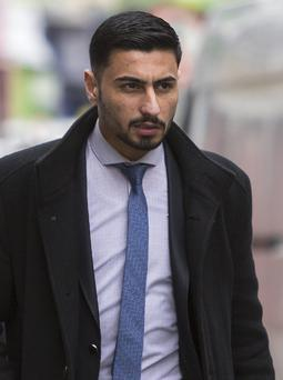 Ali Ameer Azeez pictured at Sligo Courthouse. Pic: Donal Hacket