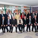 Sligo volunteer relatives and Sligo County Council at the Civic Reception in the Sligo Park Hotel on Sunday