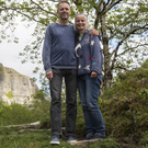 Mark and Fiona Magennis, who developed a walkway on their land in Glencar along with Sligo County Council