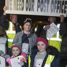 Protestors, young and old, braved the cold to protest last week