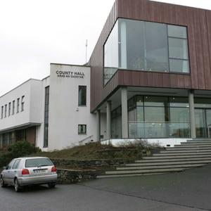 Sligo County Council headquarters at Riverside