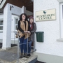 Benwiskin Centre Manager Jackie Warnock and Company Secretary Noreen Duignan outside the centre in Ballintrillick. Pics: Donal Hackett